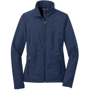 Ladies' Eddie Bauer® Shaded Crosshatch Soft Shell Jacket