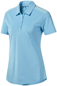 adidas Ultimate365 Heathered Short Sleeve Polo - Women's